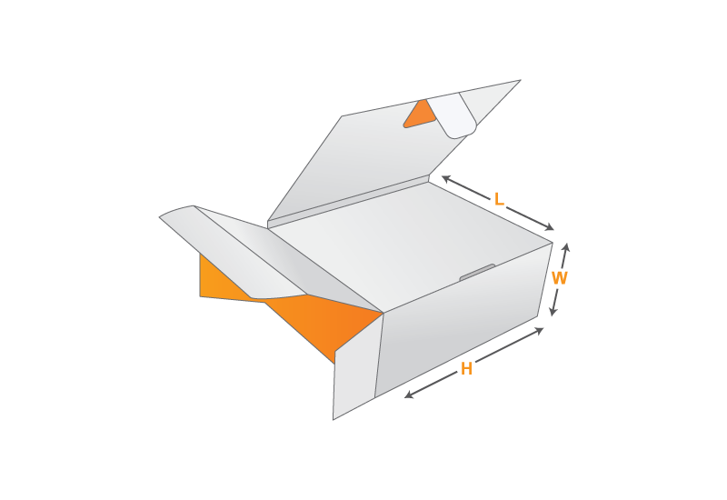 Book End Flap Box Design