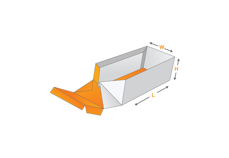 Sleeve Box and Tray Template