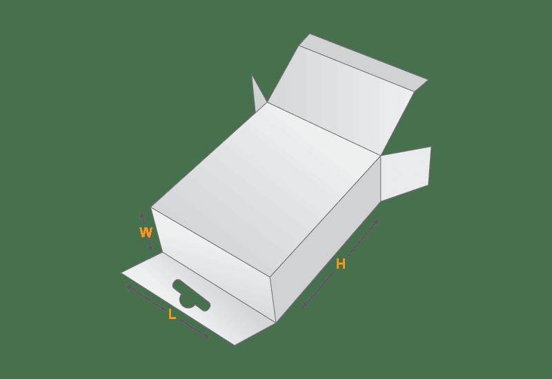 Hang Tab Box Template