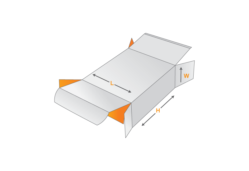 straight tuck end box template