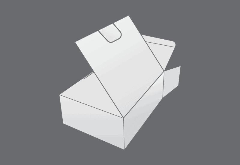Book End Flap Box