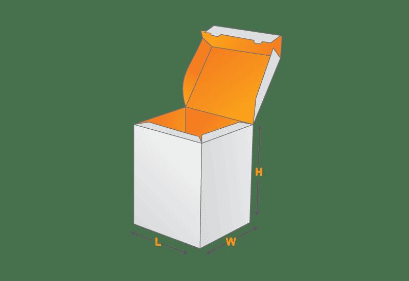 Bottom Lock Box Template