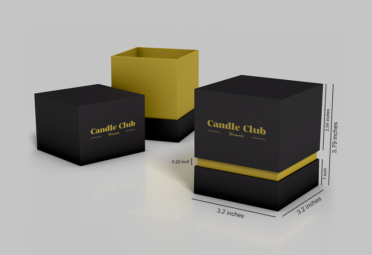 Candle Boxes | Luxury Candle Boxes | Blue Box Packaging