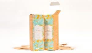 tuck top cosmetic packaging