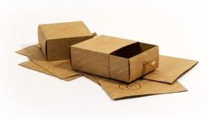 kraft drawer box