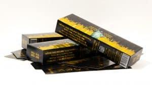 metalized cigarette boxes