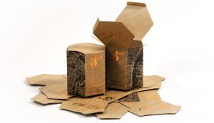 hexagon candle packaging