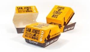 hamburger boxes