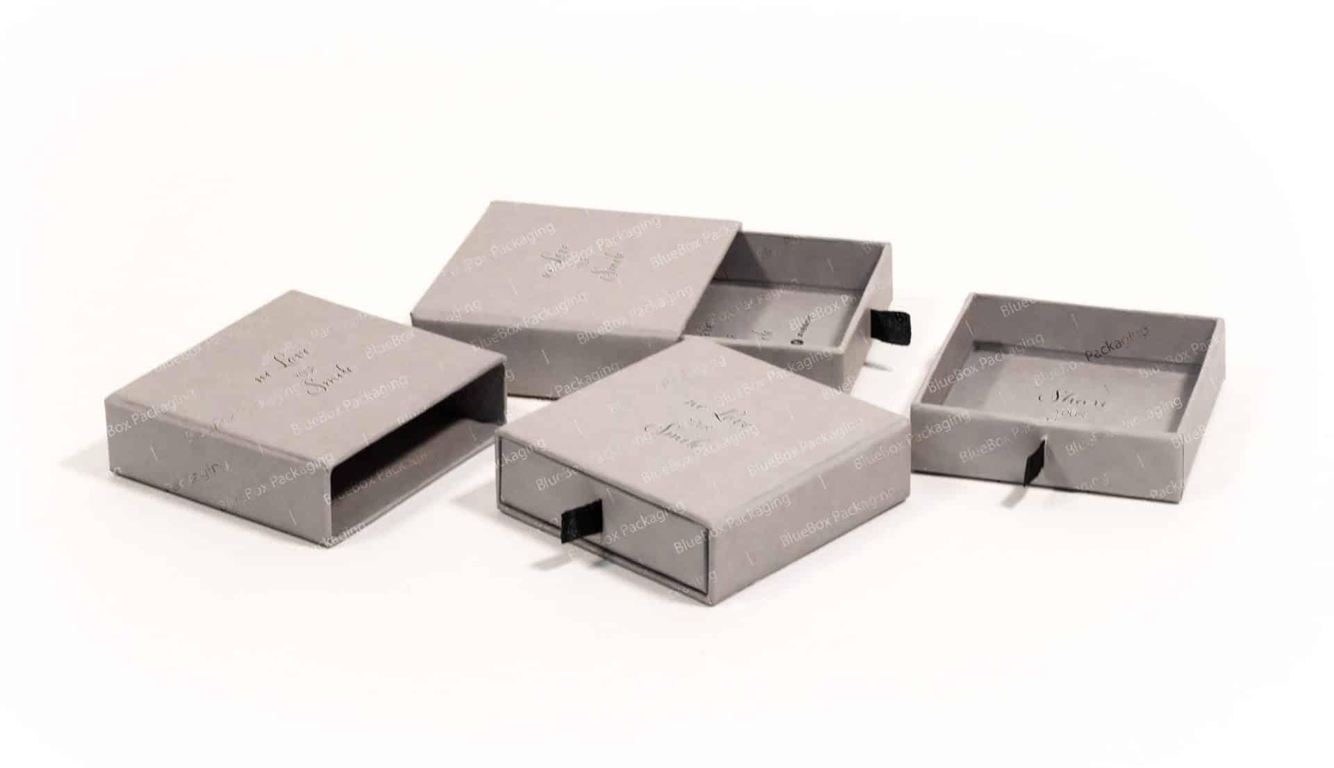 jewelry sliding boxes