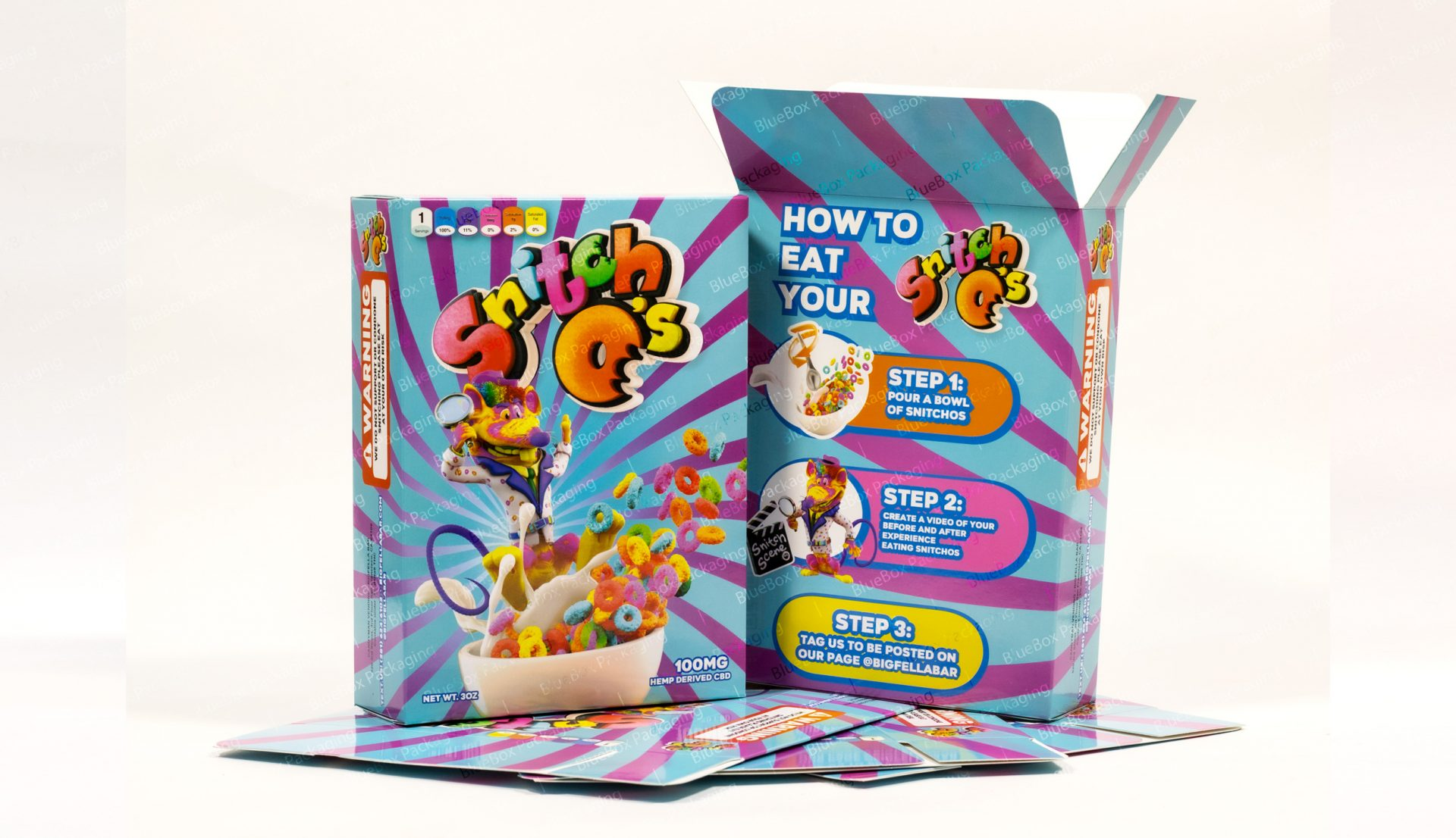 cardboard cereal boxes