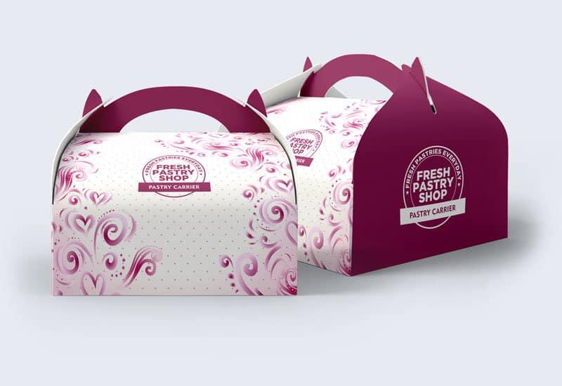 Custom Bakery Boxes | Custom Cake Boxes | Blue Box Packaging