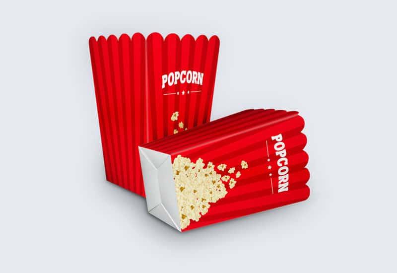 customized popcorn bags