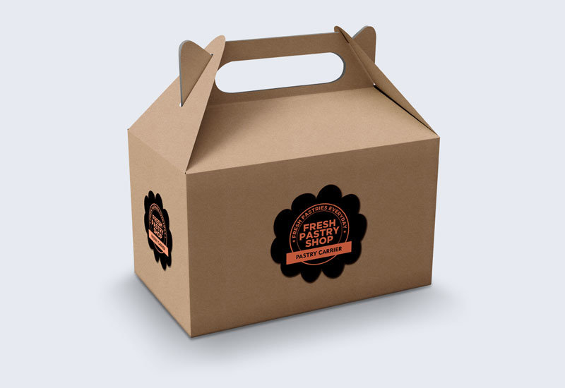 Gable Boxes Custom Packaging Blue Box Packaging