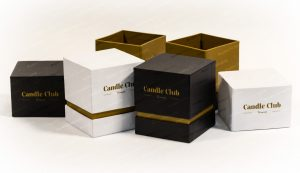 telescopic candle boxes