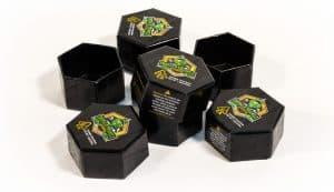 metalized hexagon boxes