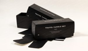cardboard telescopic travel candle boxes