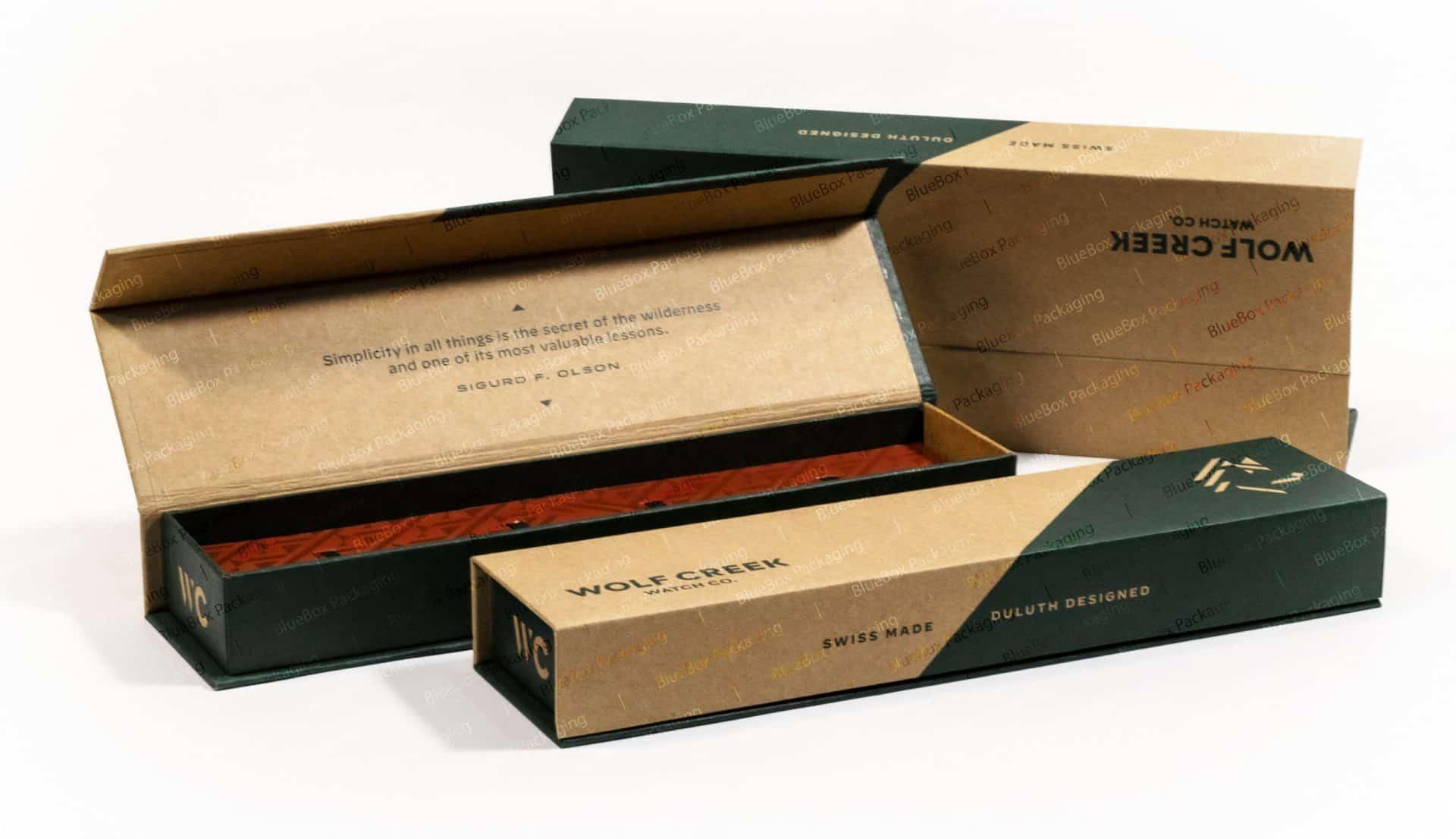 rigid watch boxes