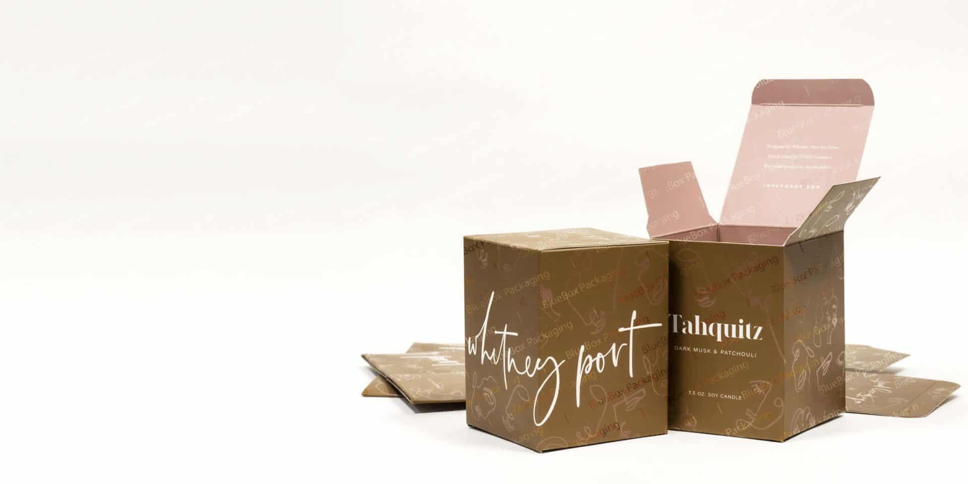 reverse tuck cardboard boxes
